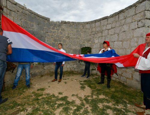 Svečano obilježen Dan državnosti na tvrđavi Klis
